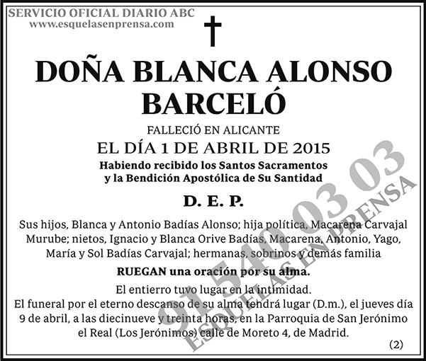 Blanca Alonso Barceló